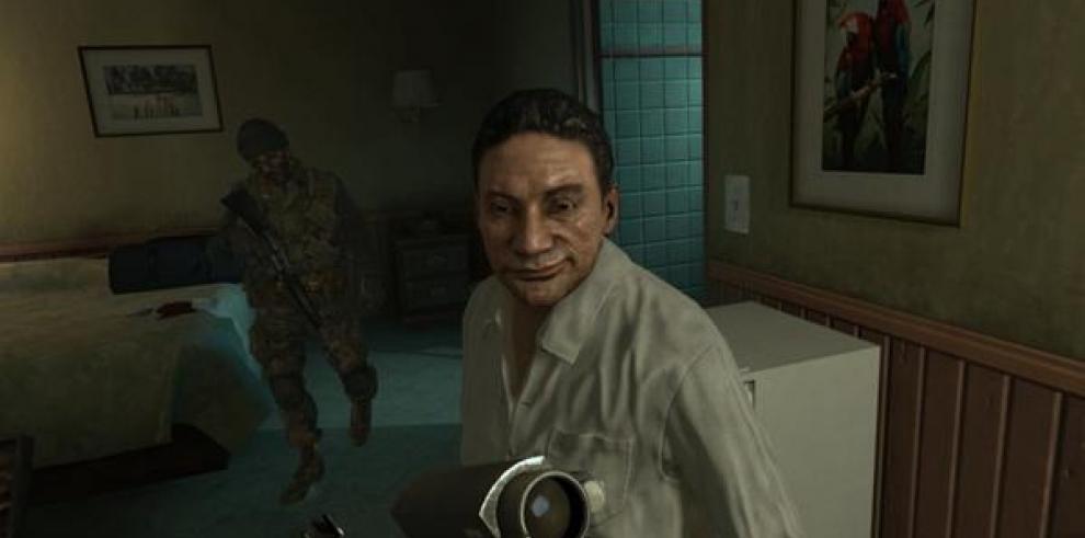 Piden desestimar demanda de Noriega por videojuego