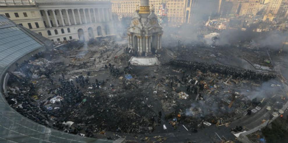 Las protestas de Kiev abren el festival DocLisboa