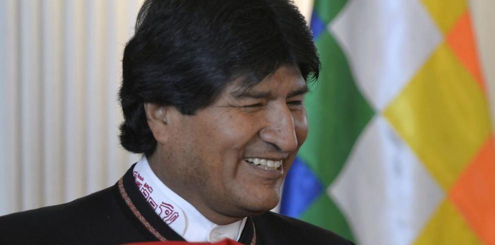 Conteo da 59.88% de votos a Morales
