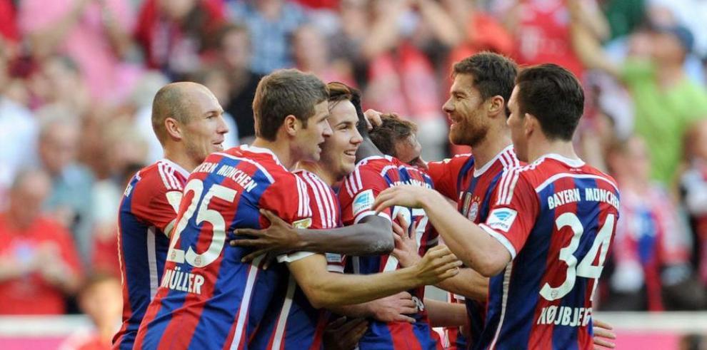 Goleada del Bayern
