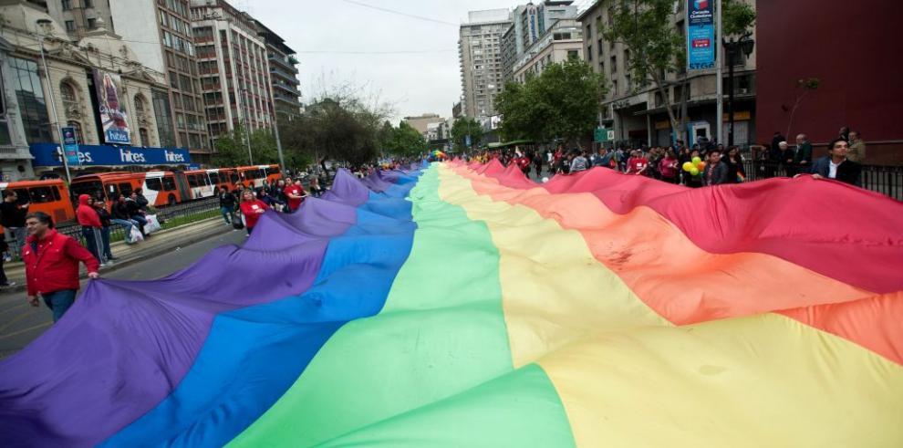 Chilenos participaron en marcha por respeto a la diversidad sexual