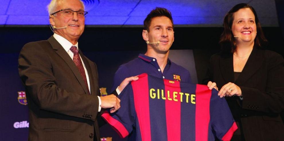 Gillette presente en el fútbol