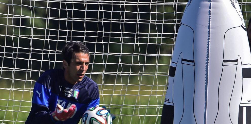 Buffon vuelve a los entrenamientos