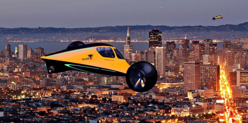 El coche volador 'Transformer'