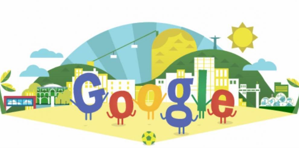 Doodle, atracción virtual de Brasil 2014