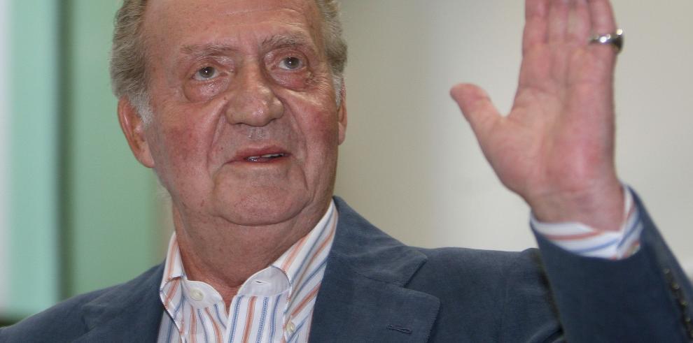 Juan Carlos I disfruta hoy del último día como Rey de España