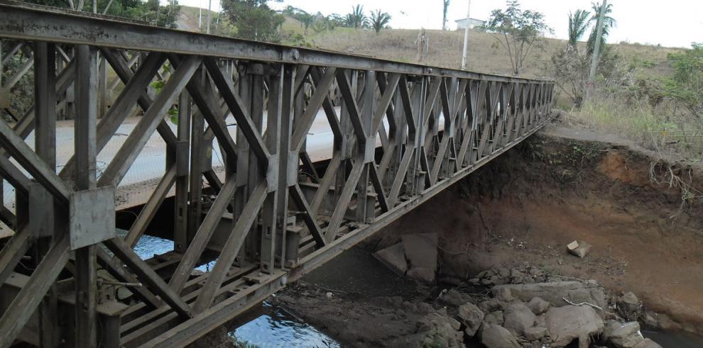 MOP recomienda demolición de puentes