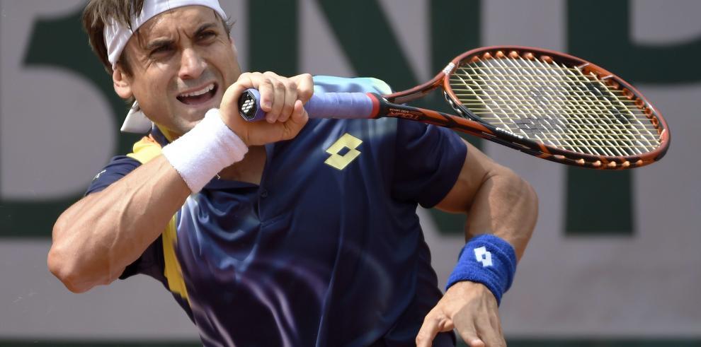 David Ferrer, primer español en cuartos de final