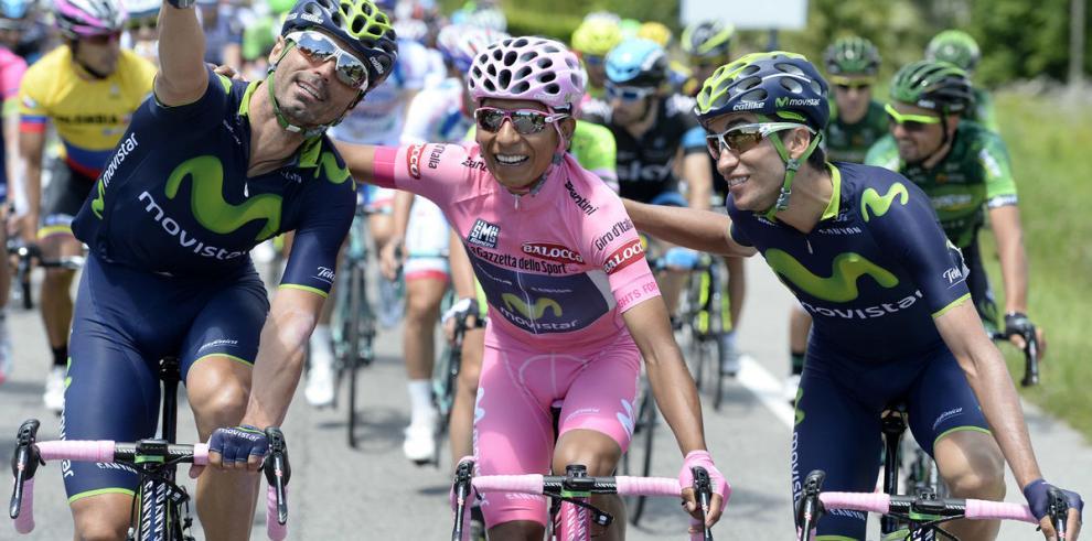 Festival colombiano en el Giro de Italia