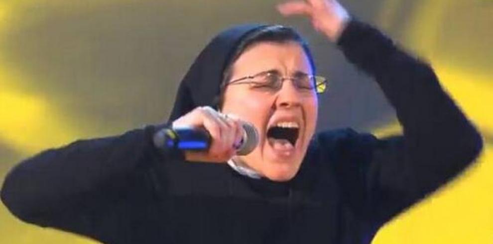Sor Cristina, una monja favorita en el concurso La Voz en Italia
