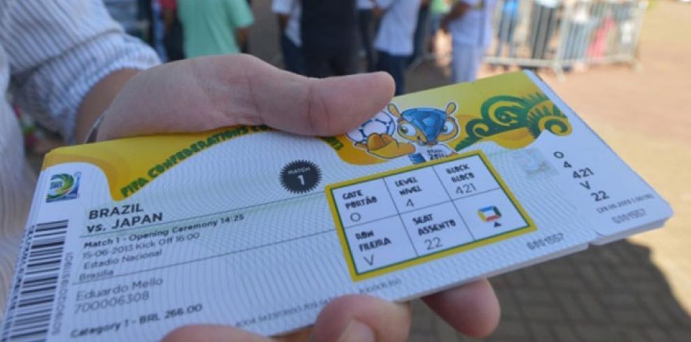 FIFA vendió cerca de 3 millones de entradas para el Mundial Brasil 2014
