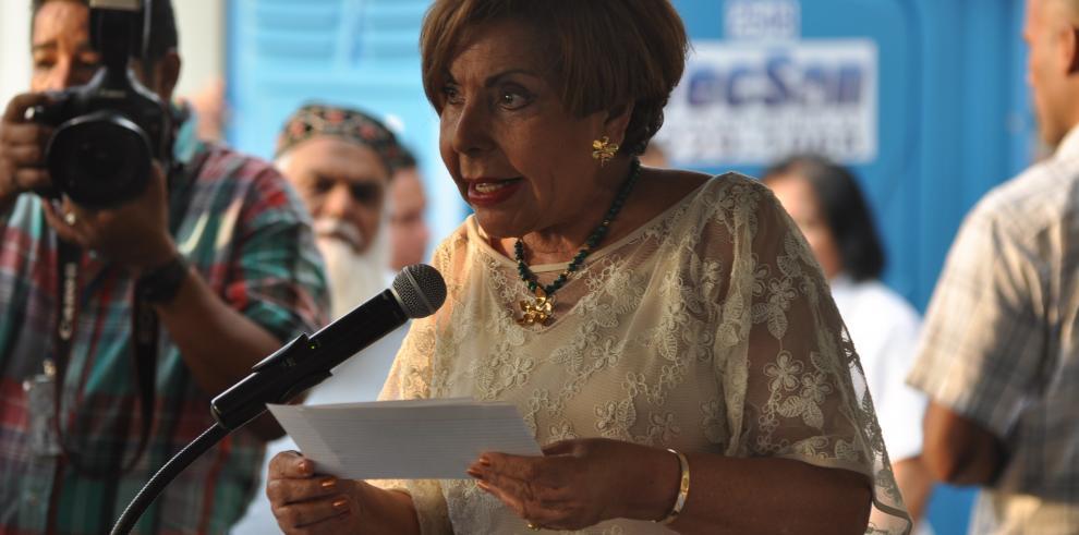 Mayín Correa pide solución para parque de Paitilla