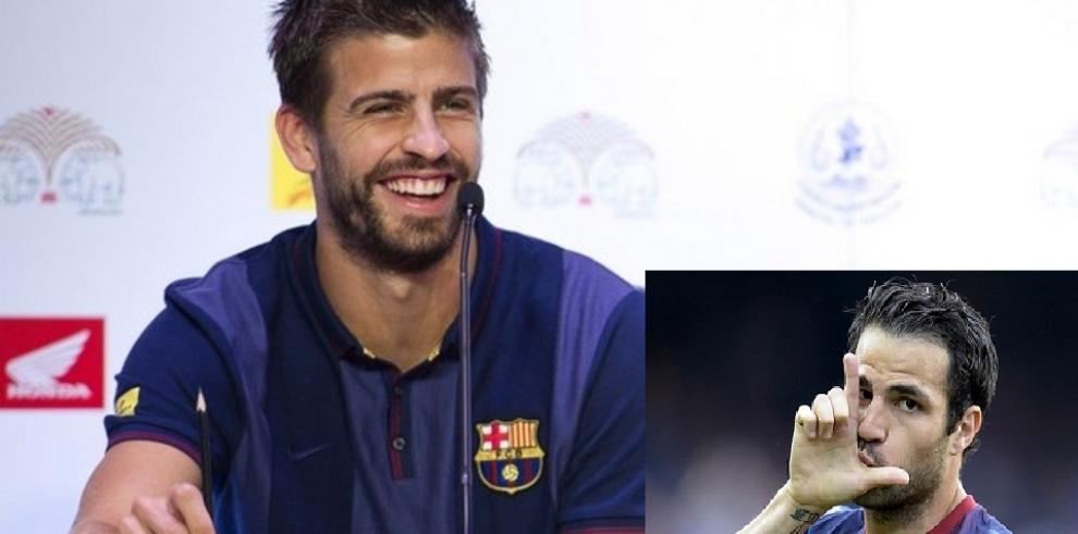 La indiscreción de Piqué y el adiós de Fábregas al Barcelona