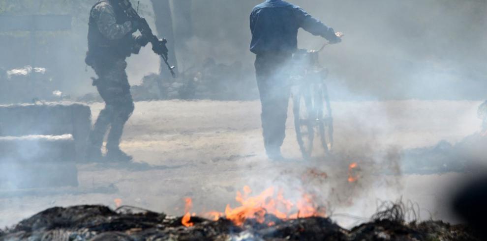 Combates dejan cinco muertos en Slaviansk