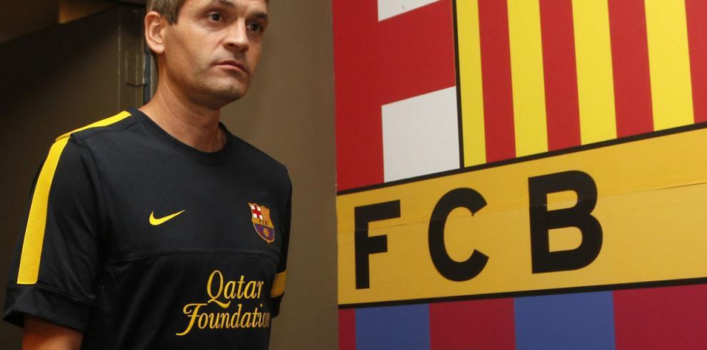 La emotiva carta con la que se despidió Tito cuando salió del Barcelona
