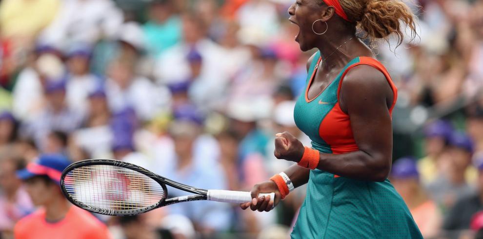 Serena Williams alcanza la gloria en Miami
