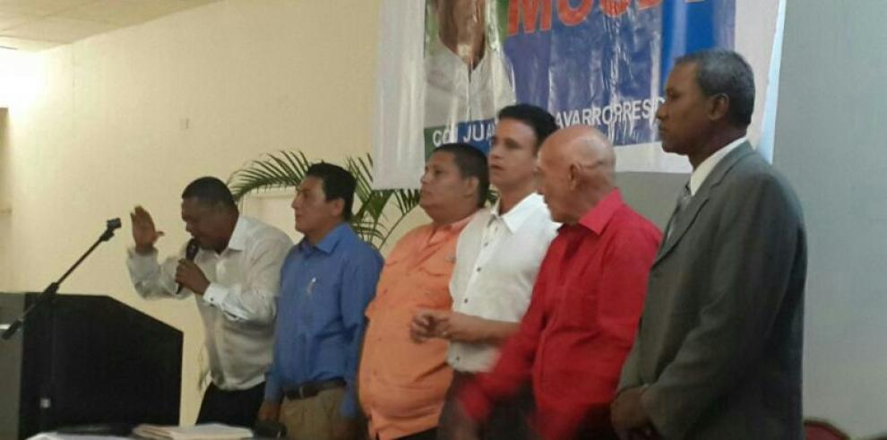 Miembros de CD anuncian apoyo a nómina presidencial del PRD