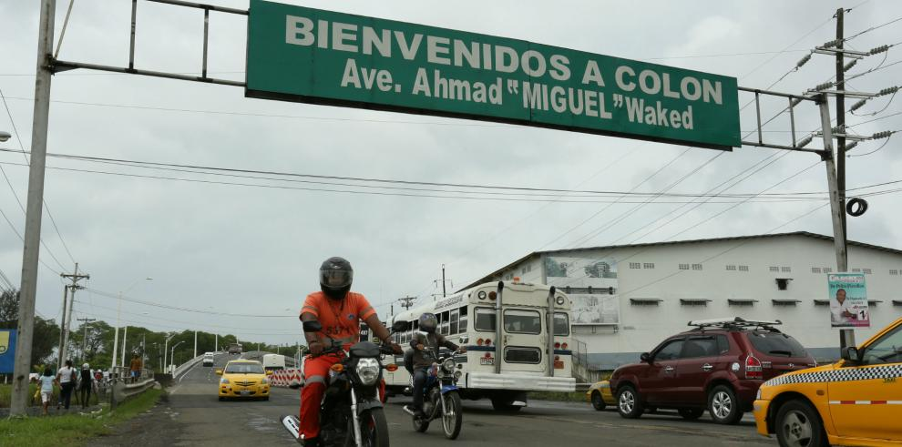 MOP informa de cierre en importante vía de Colón