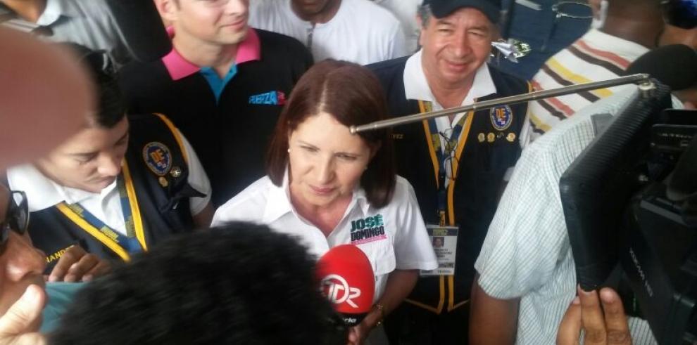 Primera Dama pide tolerancia