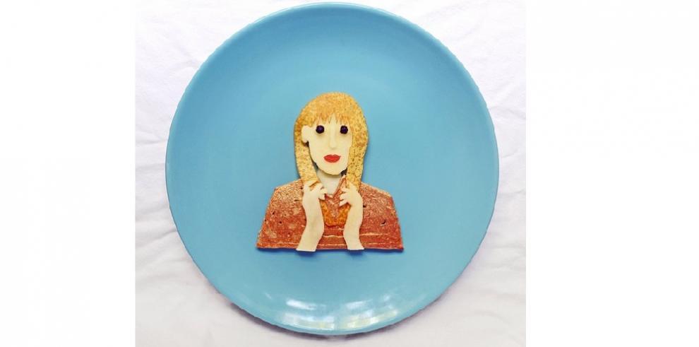 Disfrute del arte mientras come