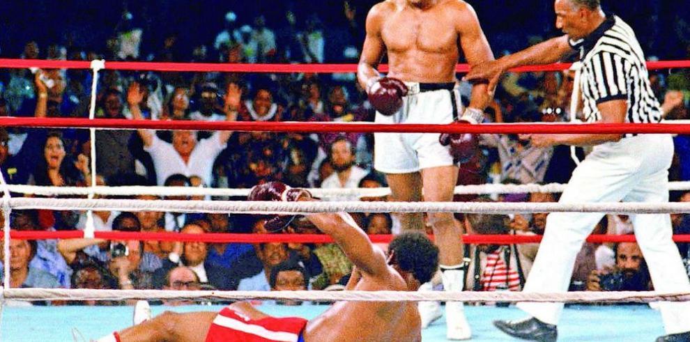 Ali, Foreman y el 'Rumble in the Jungle'