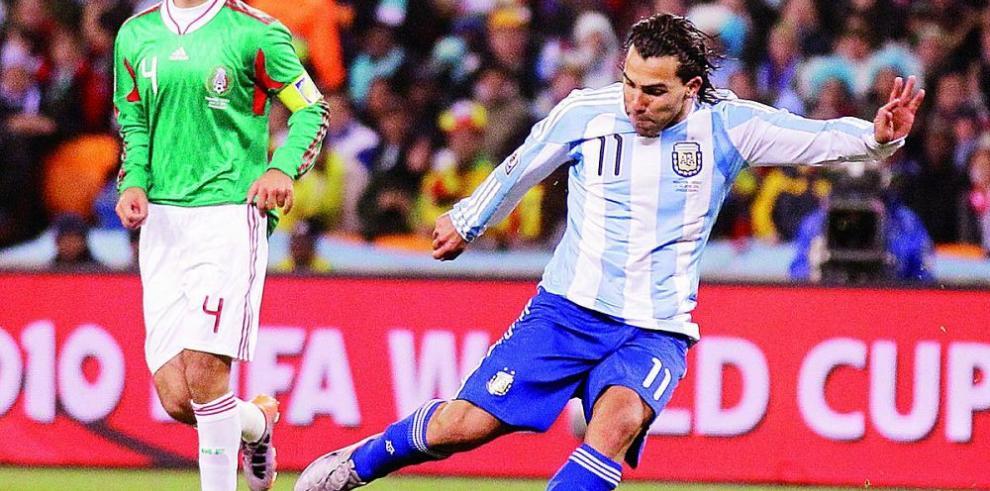 Carlos Tevez está de vuelta con la selección de Argentina