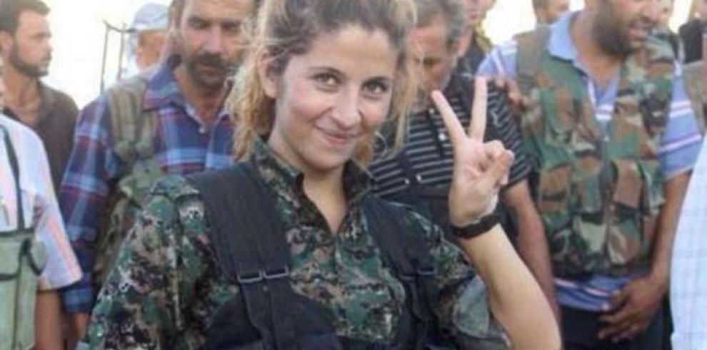 Reportes sobre la muerte de la combatiente kurda Rehana son falsos
