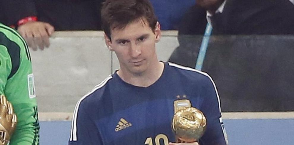 Blatter: fue un error darle a Messi el Balón de Oro en Brasil