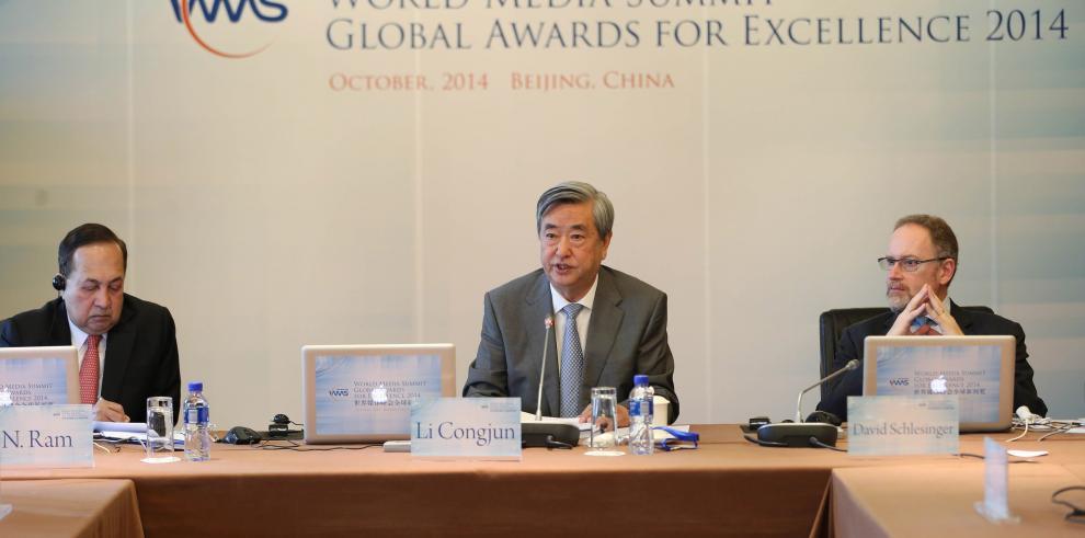 Anuncian a ganadores de premios 2014 de la Cumbre Mundial de Medios