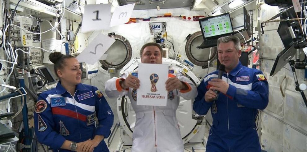 Presentan el logotipo del Mundial de Rusia 2018