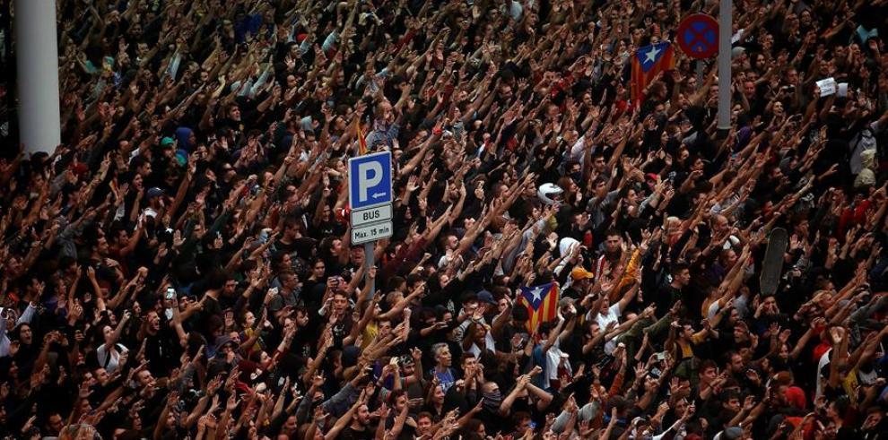 Protestas en Cataluña independentismo 2019