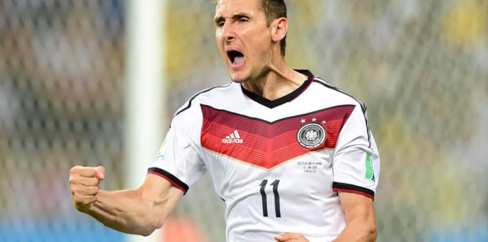 Miroslav Klose hace historia: rompe el récord de goles de Ronaldo