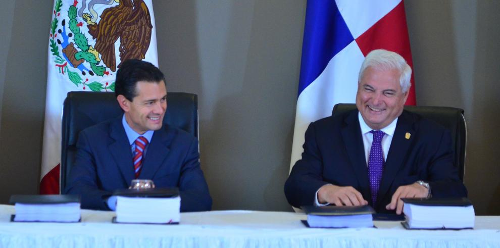 Ratificación del TLC Panamá-México, en manos del gobierno de Varela