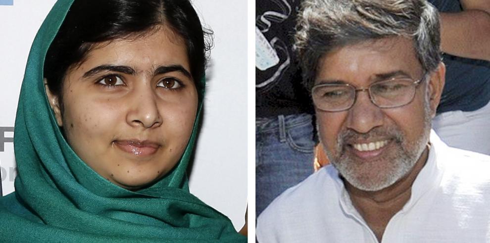 La paquistaní Malala y el indio Kailash Satyarthi ganan el Nobel de la Paz