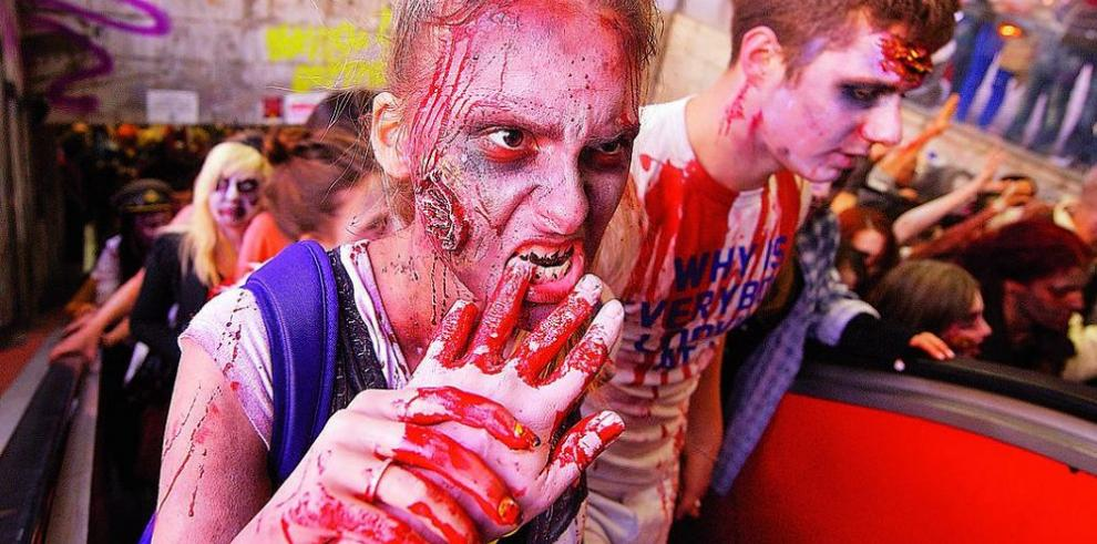 Vuelve el 'Zombie Walk', halloween alternativo