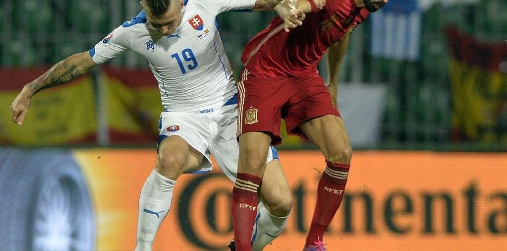 Eslovaquia sorprende a España