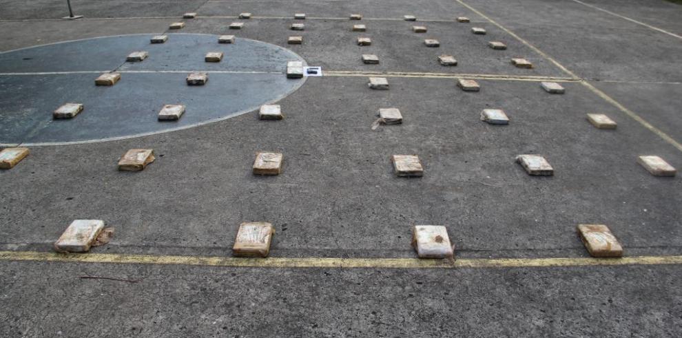 Senafront decomisa 48 paquetes con cocaína en Darién