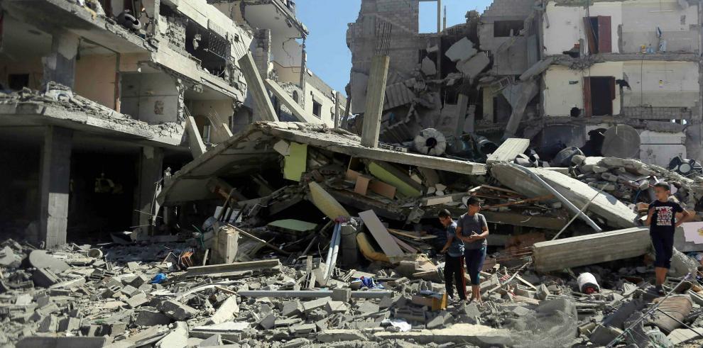 Ofensiva isrealí contra Hamas deja más de 100 muertos en Gaza en cuatro días