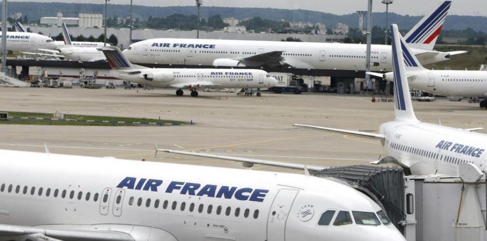 Huelga paralizará la mitad de los vuelos de Air France