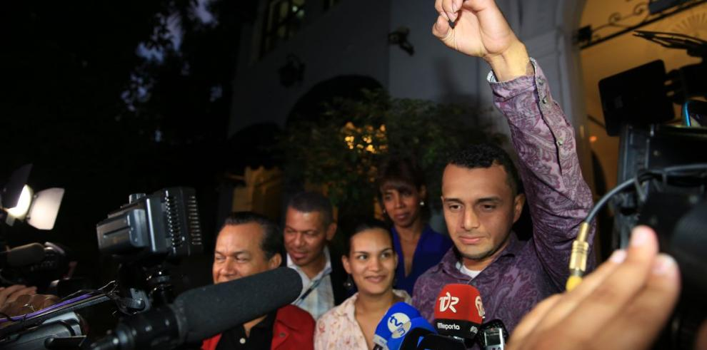Edwan Frías: 'Gracias... encontré a mi hijo'