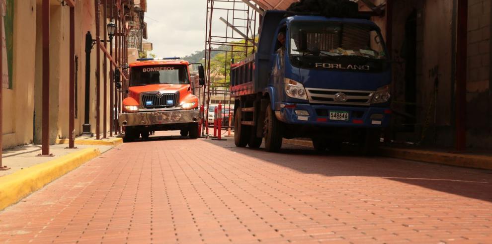 Especial multimedia: El laberinto de los bomberos en el Casco Antiguo