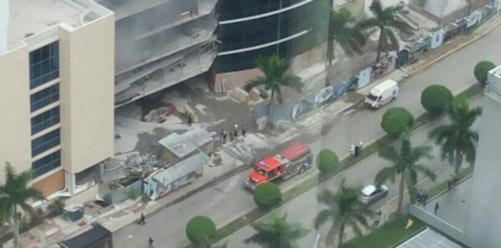 Incendio en edificio de Costa del Este