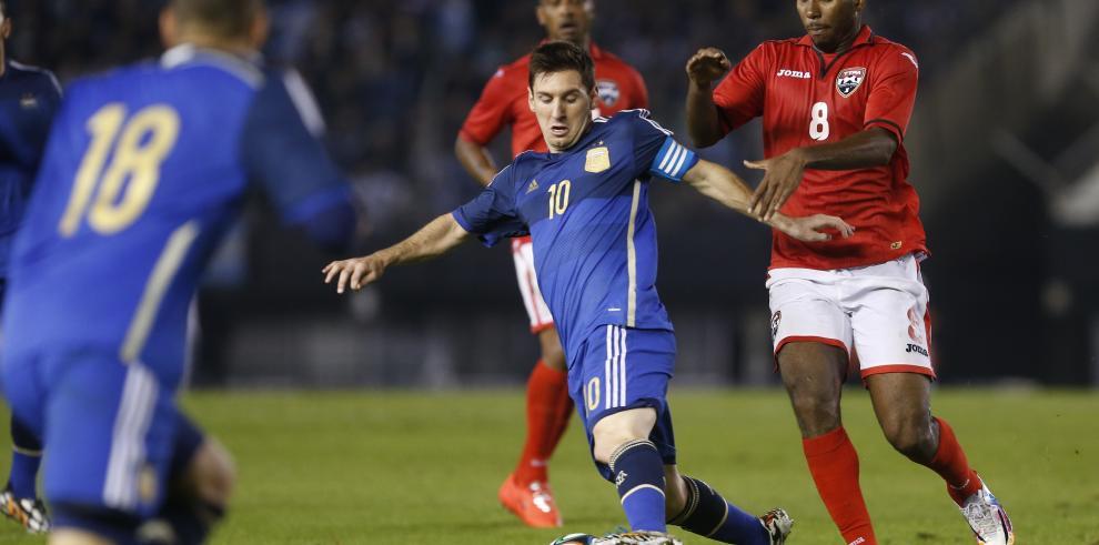 Argentina vence a Trinidad y Tobago en Amistoso 3-0
