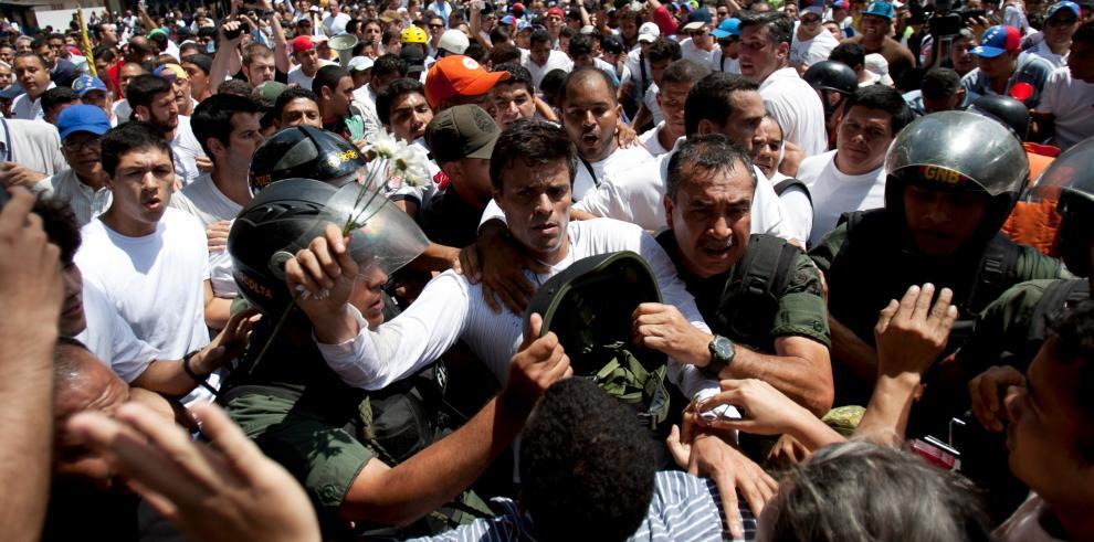 Leopoldo López continúa a la espera de una decisión judicial