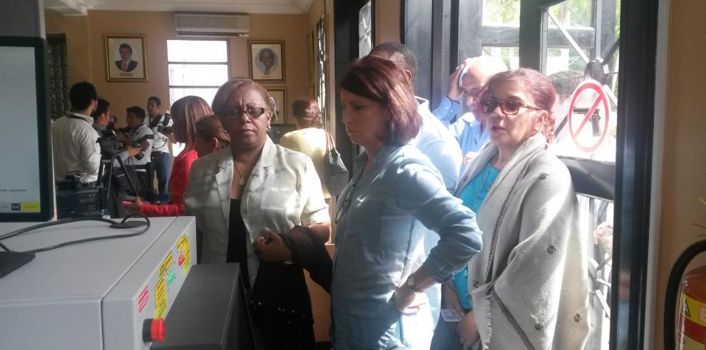 Magistrados de la CSJ en deliberación sobre caso de Ana Matilde Gómez