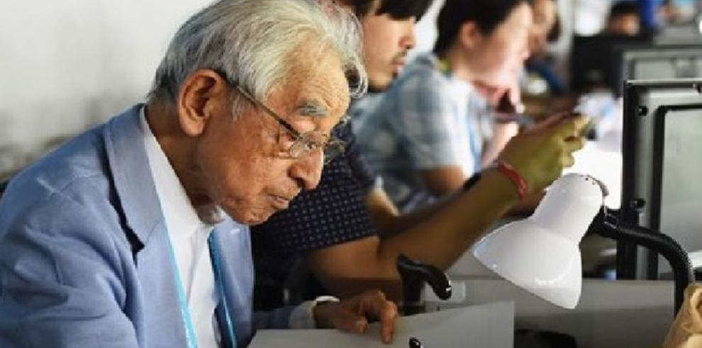 Periodista más viejo del Mundial