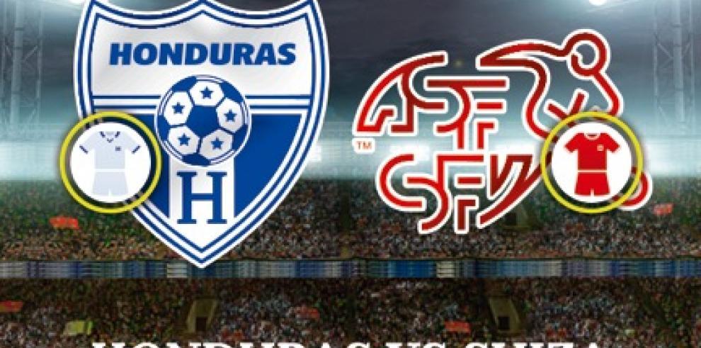 Suiza venció a Honduras 3-0