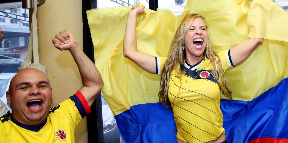 ¡Colombianos la pasan bacano!