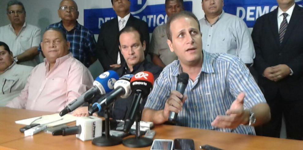 Diputados electos delPRD exigen credenciales