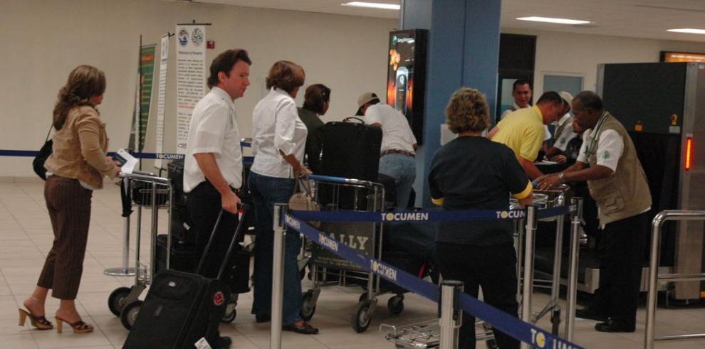 Aumenta flujo de pasajeros en Tocumen